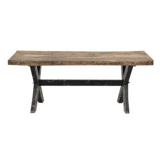 Rustic Reclaimed Wood Farm Table