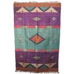 Image of Santa Fe Flat Weave Rug - 4′ × 6′