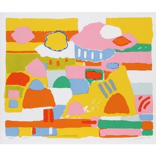 """John Grillo, """"Landscape Ii,"""" Serigraph"""