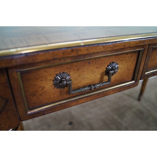 Image of Regency Directoire Style Parquet Top Writing Desk