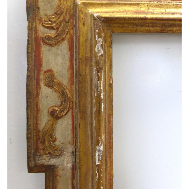 Baroque 17th Century European Gilt-Wood Frame - Image 6 of 9