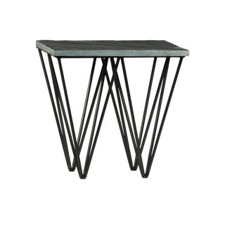 Contemporary Stone End Table