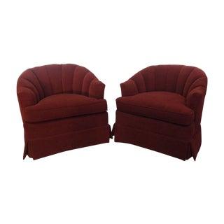 Vintage Henredon Club Chairs