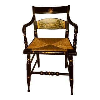 Hamilton College Hitchcock Accent Chair