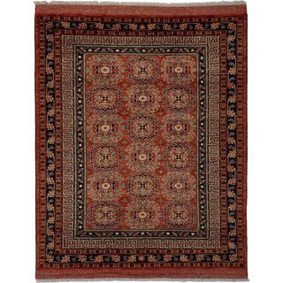 "Ziegler, Hand Knotted Area Rug - 6' 0"" x 7' 5"""