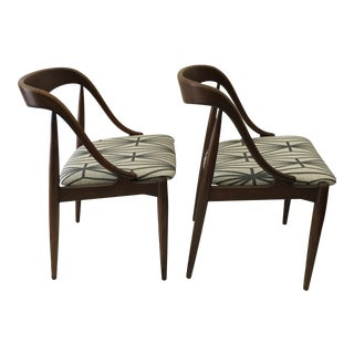 MM Moreddi Danish Modern Dining Chairs - Pair
