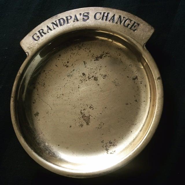 Vintage Solid Brass Pocket Change Dish - Image 2 of 3