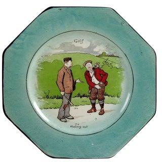 Wedgwood Golf Plate