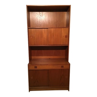 Teak Storage Cabinet & Shelving