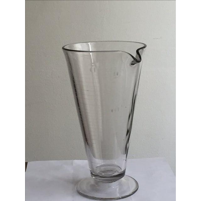 Vintage Lab Glass Vase - Image 3 of 6