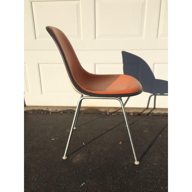 Eames For Herman Miller Orange Shell Chair Chairish