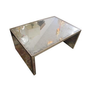 Mirrored Large Coffee Table