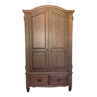 Traditional Wooden Armoire Cabinet