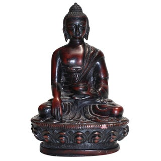 Small Wooden Buddha Statue