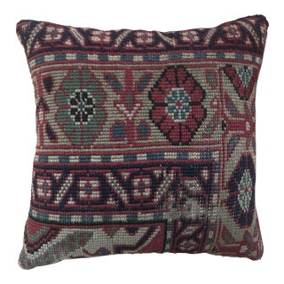 Vintage Turkish Kilim Rug Pillow