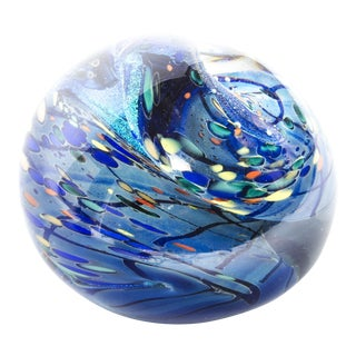 "Rollin Karg ""Wave Sphere"" Paper Weight"