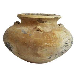 Rustic Thai Earthenware Clay Pot