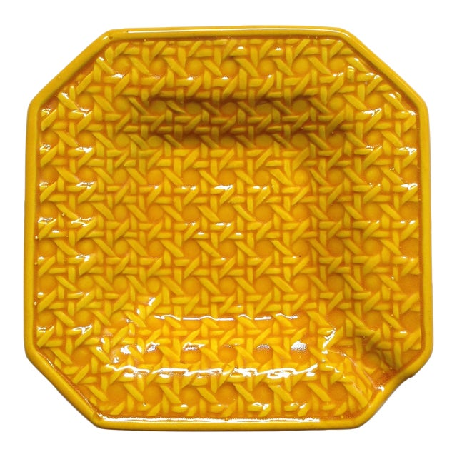 Yellow Italica Ars Cane Ashtray - Image 1 of 7