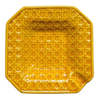 Yellow Italica Ars Cane Ashtray