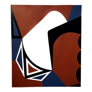 """Abstraction #4"" Silkscreen on Paper"