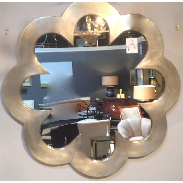 Large-Scale Silver Gilt Wall Mirror - Image 2 of 4