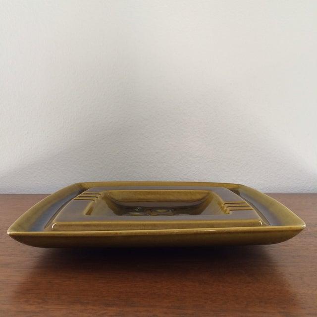 Mid-Century Glazed Ceramic Ashtray - Image 5 of 9