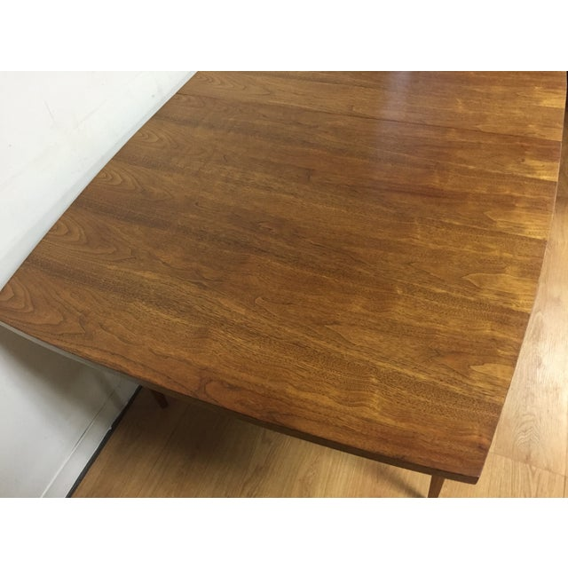 Broyhill Walnut Dining Table - Image 7 of 9
