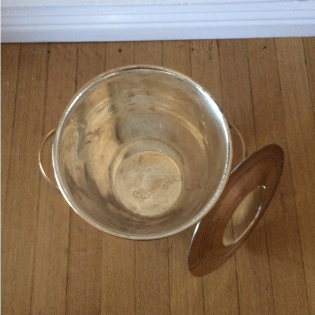 Vintage Art Deco Brass Lidded Ice Bucket - Image 7 of 10
