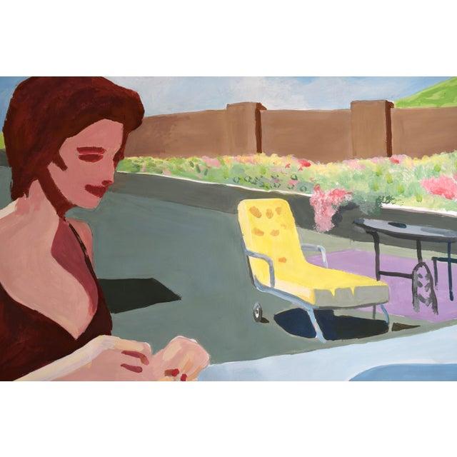 """California Pale"" Original Painting - Image 2 of 9"