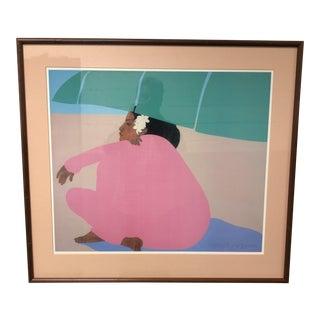 Peggy Hopper Custom Framed Print
