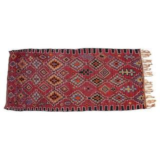 Vintage Moroccan Beni M'Guild Rug - 13'3'' X 5'10''