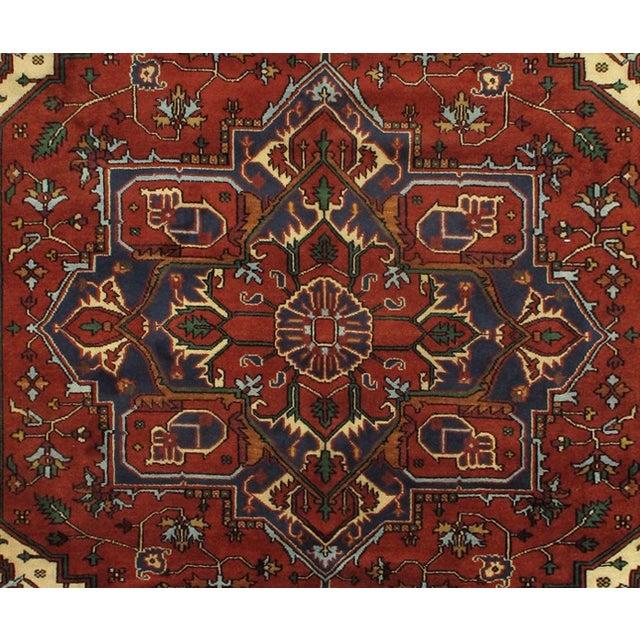 Image of Pasargad Persian Design Serapi Rug - 9′ X 12