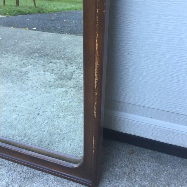 Image of Mid Century Modern American Walnut Wall Mirror