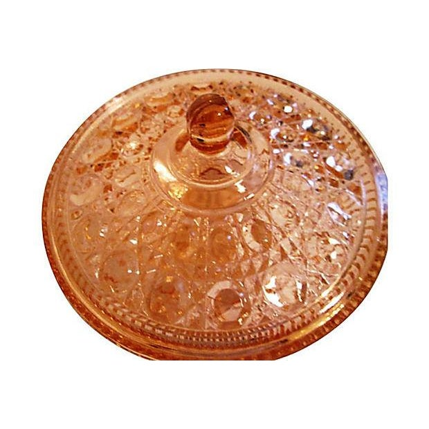 Blush Pink Depression Glass Bowl Aspect Fit Width 640 Height Jupiter Black Dining Table