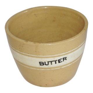 McCoy Yelloware Butter Crock