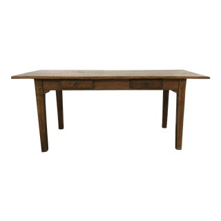 Antique Oak Farm House Table