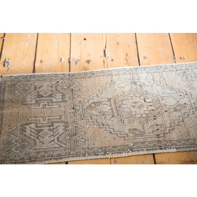 "Distressed Oushak Rug Mat - 1'8"" X 3'2"" - Image 4 of 7"
