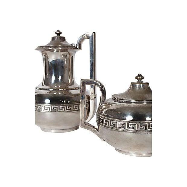 Image of Circa 1900 Silver Gorham Tea & Coffee Set