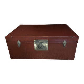 Lacquered Asian-Style Trunk