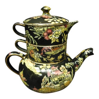 Chintz Royal Winton Stacking Teapot Set