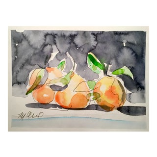 Still Life Orange Painting