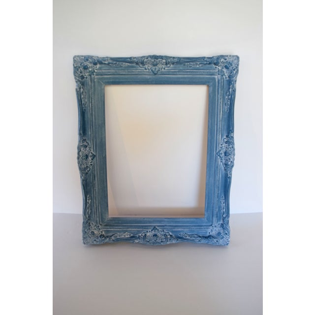 Blue Vintage Picture Frames - A Pair - Image 6 of 9