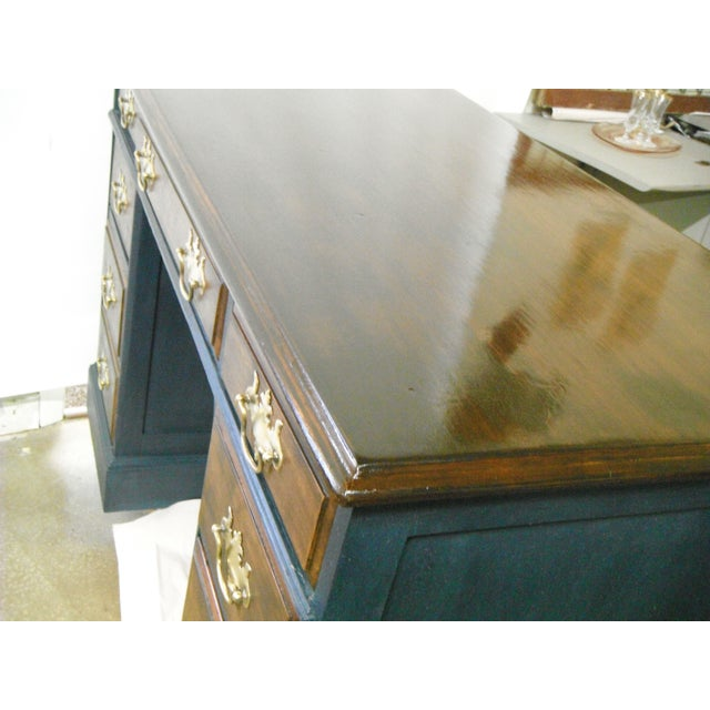 Antique Painted Federal Style Desk - Image 4 of 11