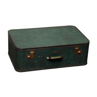 JC Higgins Green Suitcase