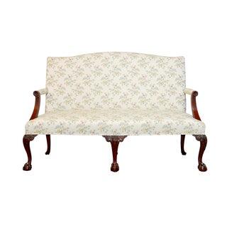 George II Style Mahogany Settee