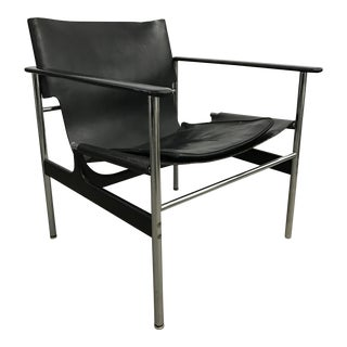 Model 657 Sling lounge chair by Charles Pollock for Knoll/1964