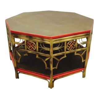 Rattan & Bamboo Coffee Table