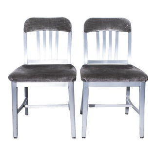General Fireproofing Co. Refinished Armchairs - A Pair