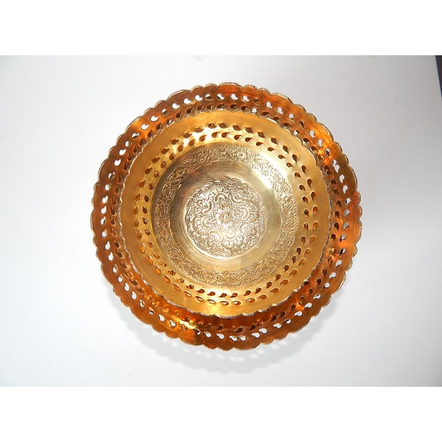 Ambika Brass Bowls - Set of 4 - Image 2 of 8