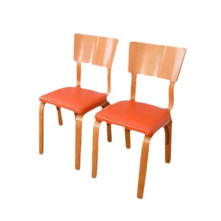 Mid-Century Thonet Bentwood Plywood Chairs - A Pair